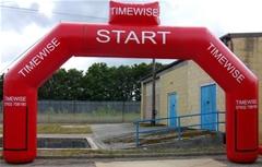 Inflatable Gantries - London - Birmingham - Glasgow - Edinburgh, Newcastle - Hull - Bristol - Cardiff - Swansea