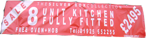 PVC Banners,  Manchester, Wigan, Bolton, Atherton, Leigh, Blackburn, astley, tyldesley