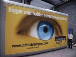 Inflatable Advertising Billboards - London - Manchester - Birmingham - Glasgow - Edinburgh, Newcastle - Hull - Bristol - Cardiff - Swansea