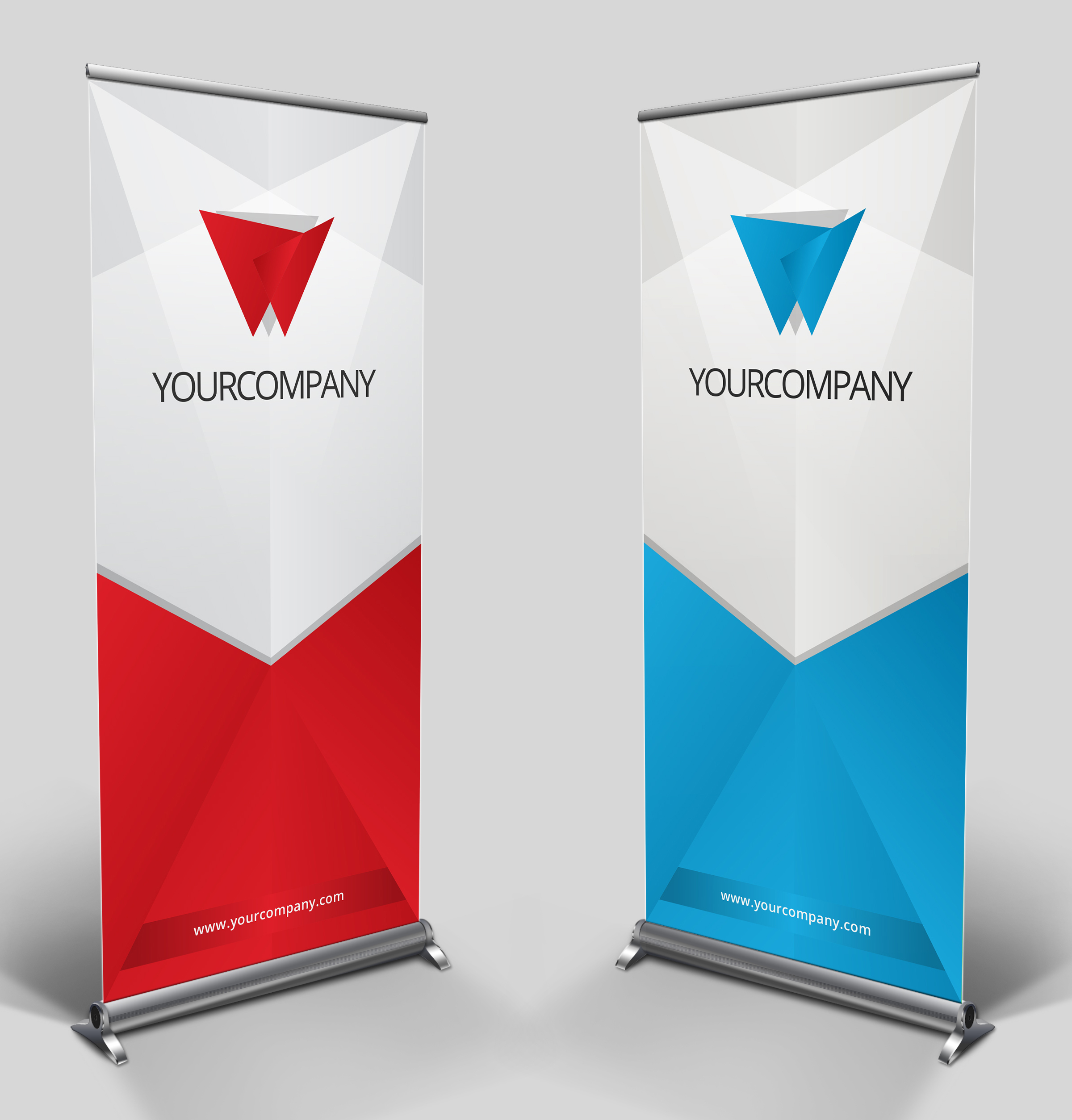 Roll Up Banners Roller Pull